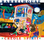 CD-Cover: Barrelhouse Jazzband - Creole Spirit
