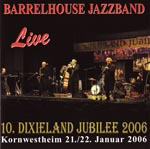 CD-Cover: Barrelhouse Jazzband - Live